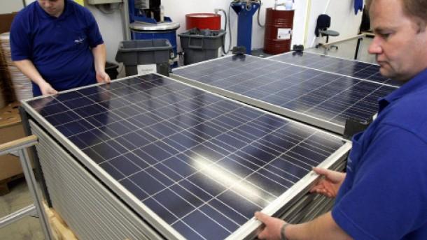 Solaraktien lassen Anleger kalt