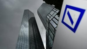 Deutsche-Bank-Aktie 2 Prozent im Plus