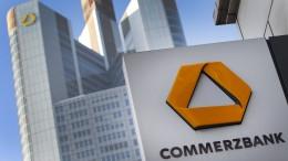 Commerzbank-Aktie fast 5 Prozent im Plus
