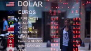 Argentinien stabilisiert den Peso