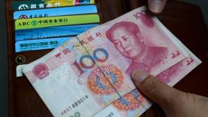 Chinas Währung kommt in die Spitzenliga