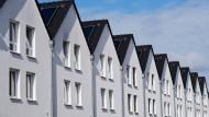 Teurer Wohnraum: Reihenhäuser in Hannover