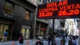 Argentinien und Brasilien ringen um Stabilität