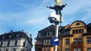 Überwachungstechnik aus China filmt in Deutschland