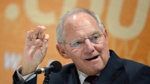 Schäuble lockert die Ausgabenbremse