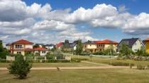 Am Rande der Stadt: Der neugebaute Wohnpark namens Carlsgarten in Berlin-Karlshorst