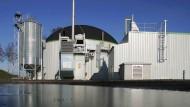 Biogasanlage der KTG Agrar AG in Putlitz