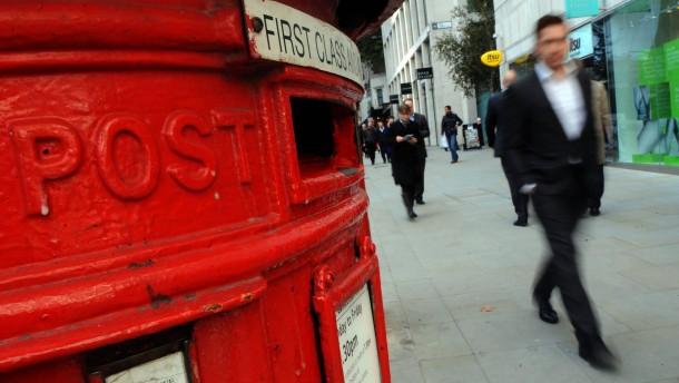 Royal Mail legt furiosen Gang auf Parkett hin