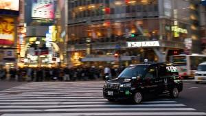 Im Japan-Taxi zu den Olympischen Spielen