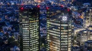 Gewinnüberraschung von Deutsche Bank begeistert Anleger nicht