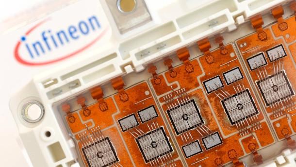 Infineon vorn beim Rennen um amerikanischen Halbleiterhersteller