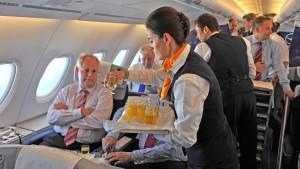 Lufthansa-Passagiere müssen sich in dieser Woche auf Streiks der Piloten einstellen.