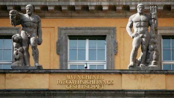 Münchener Rück bringt Versicherungsaktien unter Druck