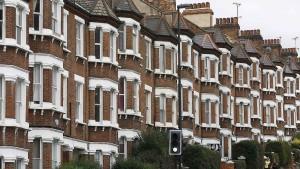 Londons Häuser kosten weniger