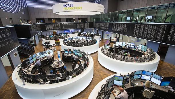 Es wird ungemütlich an der Börse