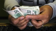 Die mexikanische Währung hat stark an Wert eingebüßt.