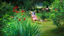 Heimwerker-Sinfonien im Reihenhausgarten