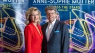 Der Manager und sein Zugpferd: Geigerin Anne-Sophie Mutter (l) und DEAG-Vorstandschef Peter Schwenkow