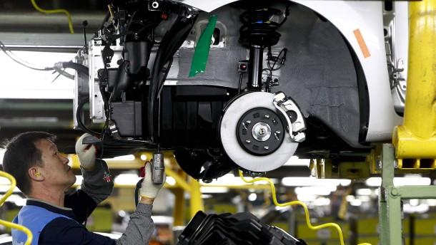 Koreas Wirtschaft schrumpft am Jahresende