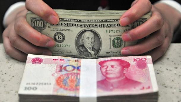 Coronavirus befällt auch Chinas Währung Yuan