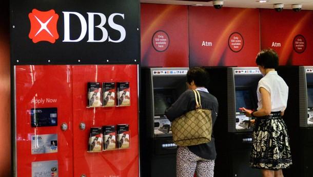 DBS kauft Vermögensverwaltung der Société Générale