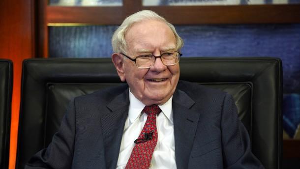 Warren Buffet baut sein Portfolio um