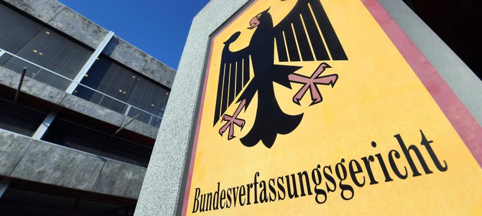 Das Bundesverfassungsgericht in Karlsruhe soll in den kommenden Monaten über die Bankenunion entscheiden.