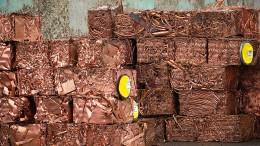 Kupferpreis steigt auf Rekordhoch