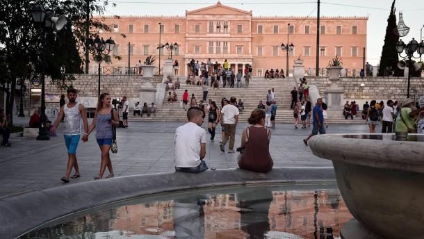 Höheres Rating für Griechenland