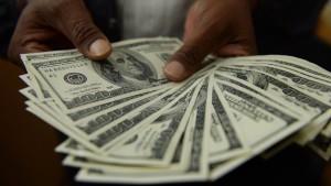 Amerikanischer Dollar im Höhenflug