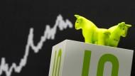 Die Bullen sind derzeit am Aktienmarkt in der Minderheit