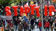 EU-Gericht berät über Bürgerinitiative gegen TTIP