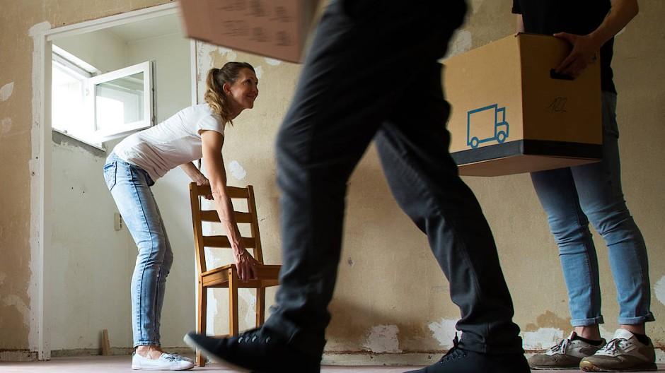 Neues Heim: Für Studenten oft schwer zu ergattern.