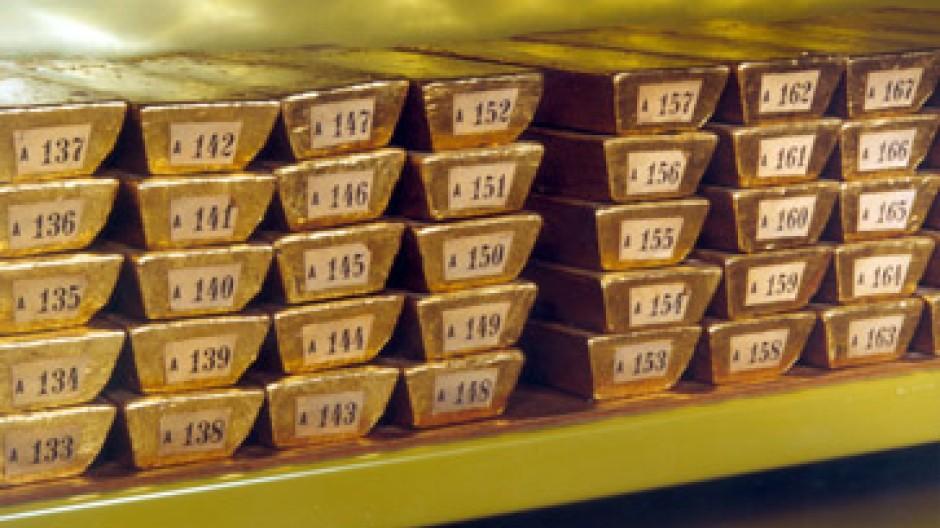 Gold notierte am Dienstag so hoch wie zuletzt 1983