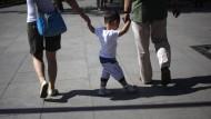 Ein Kind! Es dürfen jetzt auch zweie sein.
