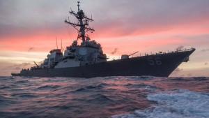 Der wichtigste Seeweg der Welt schrammt an der Katastrophe vorbei