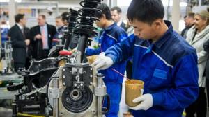 Schwache Konjunkturdaten aus Asien