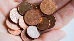 Belgien drängt kleine Centmünzen zurück