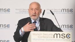 """Star-Ökonom Stiglitz: """"Ich habe kein Auto und lehne Uber ab"""""""