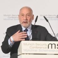 Stiglitz spricht auf der Münchner Sicherheitskonferenz