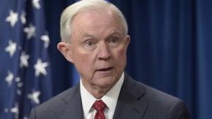 Amerikas Justizminister sagt im Senat zu Russland-Affäre aus