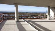 Blick aus dem Dachgeschoss des Gewa-Towers
