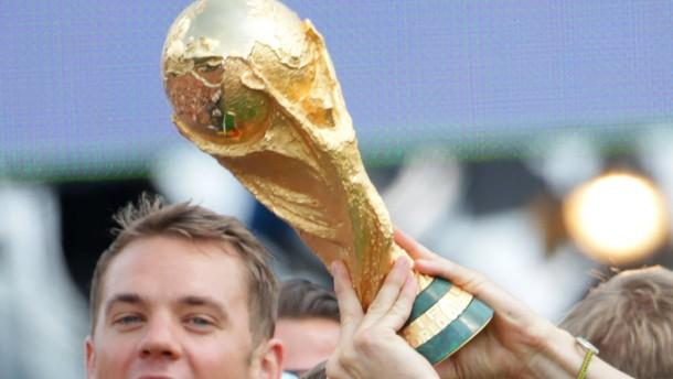 Deutschlands Titel ist 200.000 Dollar wert