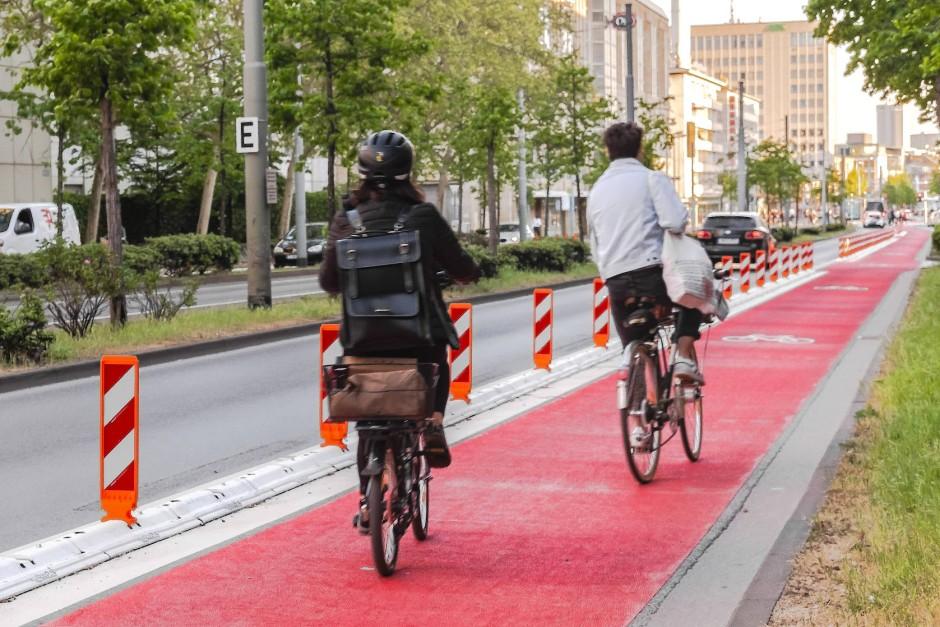 Platz für Radfahrer: Der Kampf um Stadtraum wird nach der Krise noch härter geführt werden.