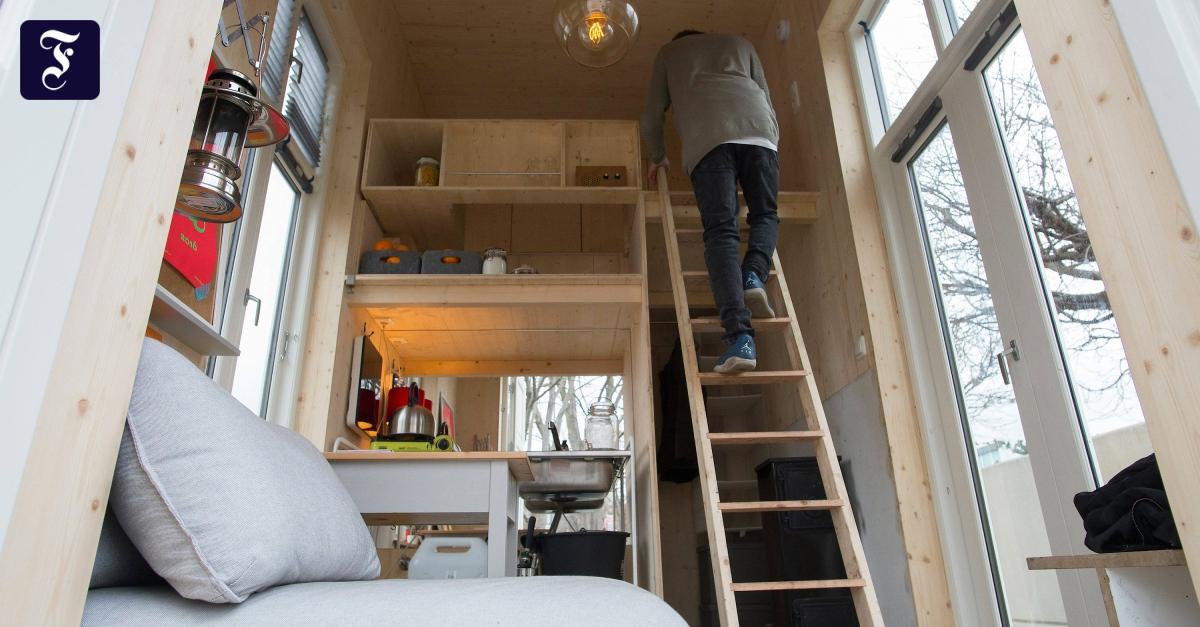 Berliner Tinyhouse University: Auf zehn Quadratmetern ist alles möglich