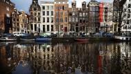 In Amsterdam haussiert weiterhin die Börse.