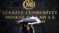 Steht hoffentlich nicht im Regen: Türkische Zentralbank