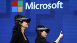 Microsoft holt Apple ein