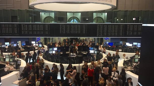 Die Börse ist kein Männerverein