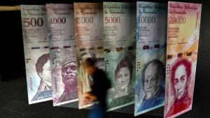 Venezuela streicht die Nullen